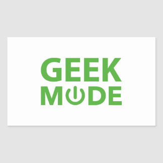 Mode de geek autocollants