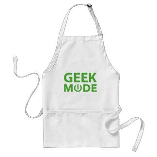 Mode de geek tablier
