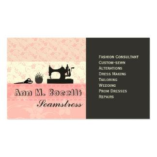 Mode faite main féminine Moda Cartes De Visite Personnelles