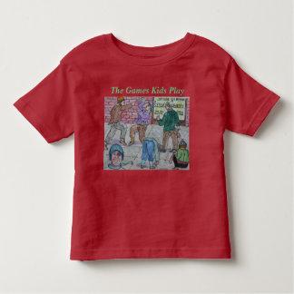 Mode faite sur commande de jeu pour des enfants t-shirt pour les tous petits