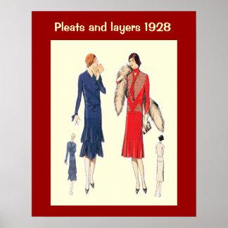 Mode historique 1928 posters