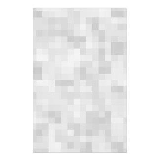Modèle abstrait gris-clair prospectus 14 cm x 21,6 cm