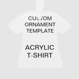 Modèle acrylique fait sur commande d'ornement de