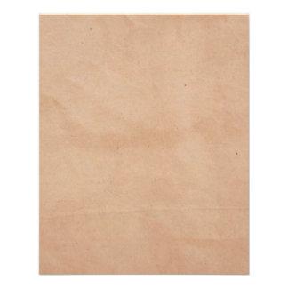 Modèle - arrière - plan de sac de papier prospectus 11,4 cm x 14,2 cm