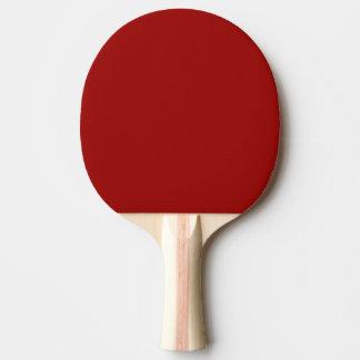 Modèle blanc blanc de palette de ping-pong ou noir raquette tennis de table