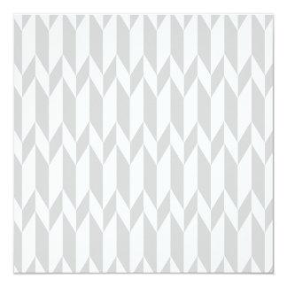 Modèle blanc et en pastel de graphique d'abrégé faire-part