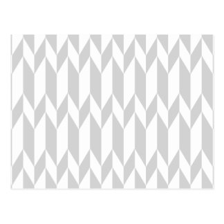 Modèle blanc et en pastel de graphique d'abrégé su cartes postales