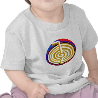 MODÈLE curatif de symbole du rei CHOKUREI Reiki de T-shirts