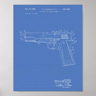 Modèle d'art de brevet de l'espace libre 1968 posters