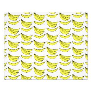 Modèle de banane prospectus 11,4 cm x 14,2 cm
