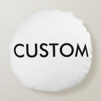 Modèle de blanc de carreau personnalisé par coussins ronds