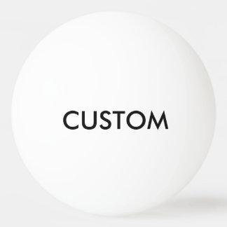 Modèle de blanc personnalisé par coutume de boule balle tennis de table