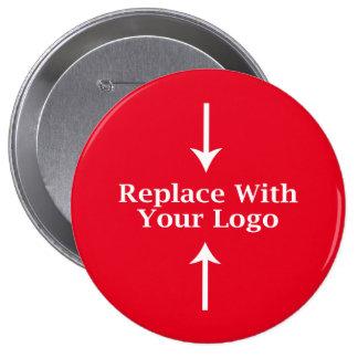 Modèle de bouton de logo d'affaires pin's