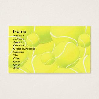 Modèle de carte de profil - tennis
