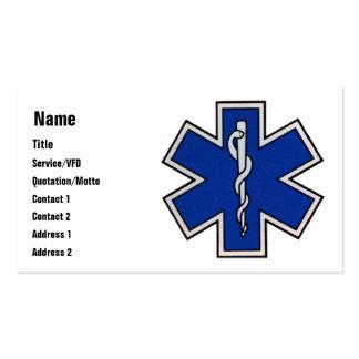Modèle de carte de visite d EMT