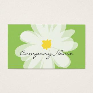 Modèle de carte de visite de fleuriste pour le