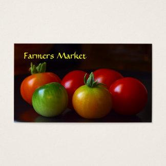 Modèle de carte de visite de marque d'agriculteurs
