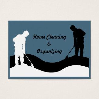 Modèle de carte de visite de nettoyage