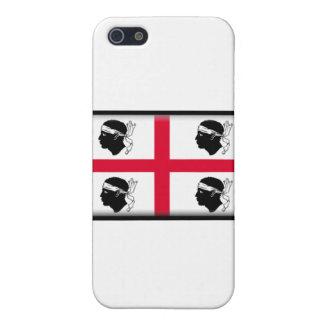 Modèle de cas de téléphone de la Sardaigne-Italie iPhone 5 Case