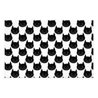 Modèle de chatte noire