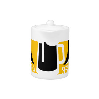 Modèle de conception de logo de bière de métier