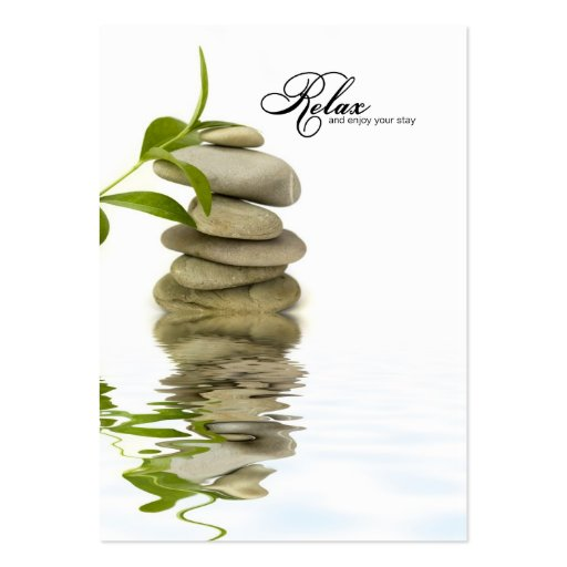 Modele Carte De Visite Zen Beaute Soins Avec Gratuit