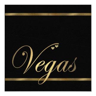 Modèle de faire-part de mariage de Las Vegas