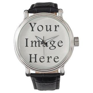 Modèle de montres-bracelet personnalisé par montre montres cadran