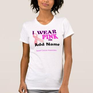 Modèle de T-shirt de conscience de cancer du sein