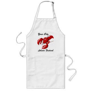 Modèle de tablier de ville de festival de homard