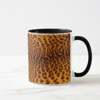 Modèle de texture de peau repéré par noir mug