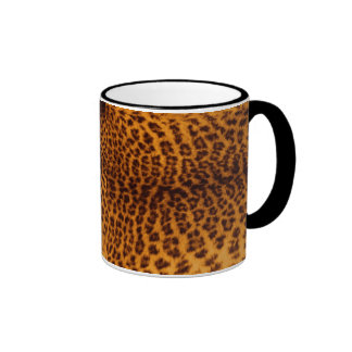 Modèle de texture de peau repéré par noir mug ringer
