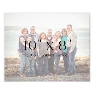 MODÈLE des photos de famille 10x8 Impression Photo
