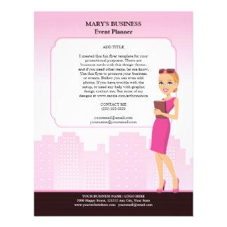 Modèle d'insecte des affaires des femmes (version  tract personnalisé