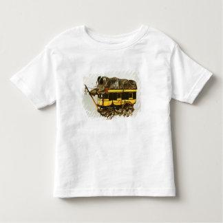 Modèle d'un omnibus de quarante sièges t-shirt pour les tous petits