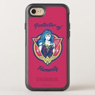 Modèle graphique tricolore de femme de merveille coque otterbox symmetry pour iPhone 7