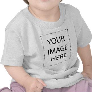 Modèle infantile de verticale de T-shirt