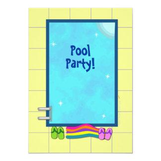 Modèle mignon d'invitations de réception au bord carton d'invitation  12,7 cm x 17,78 cm