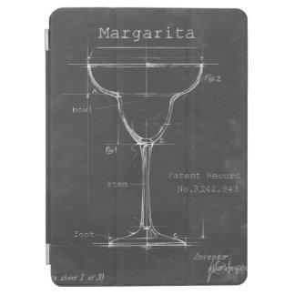 Modèle noir et blanc en verre de margarita protection iPad air