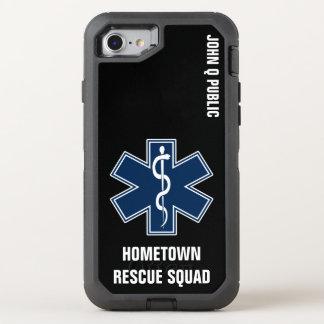 Modèle nommé de l'infirmier EMT SME Coque Otterbox Defender Pour iPhone 7