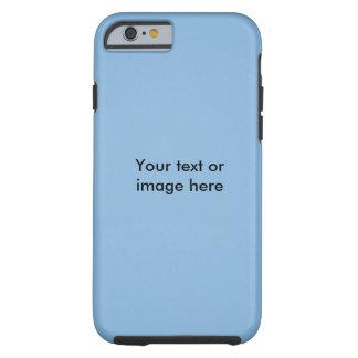 Modèle photo clair de ciel bleu coque iPhone 6 tough