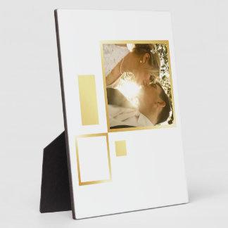 modèle photo fait sur commande de mariage, plaque d'affichage