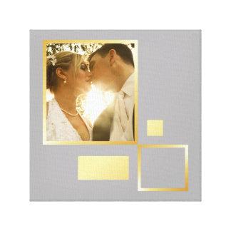 modèle photo fait sur commande de mariage, toiles