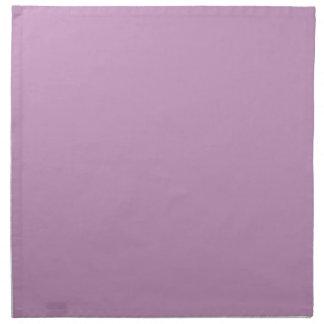 Modèle pourpre violet lilas de blanc de tendance d serviette en tissu