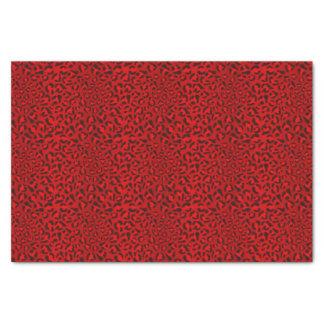 Modèle rose de texture de léopard papier mousseline