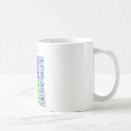 Modèle standard des particules élémentaires mugs à café