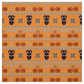 modèle tribal rayé africain ethnique tissu
