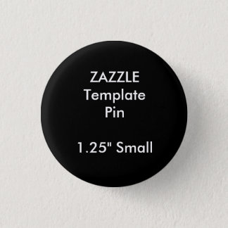 Modèle vide de Pin rond fait sur commande de Badges