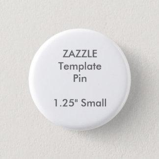 Modèle vide de Pin rond fait sur commande de Pin's
