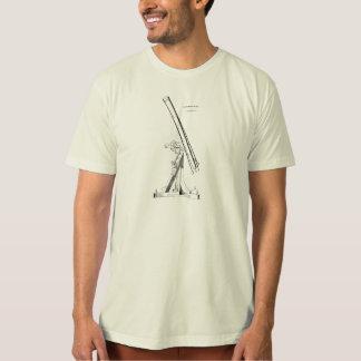 Modèle vintage d'astronomie d'antiquité de t-shirts